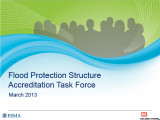 Flood Protection Structure Accreditation Task Force: Final report
