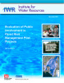Evaluation of public involvement in flood risk management pilot projects