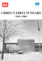 CRREL's first 25 years 1986: 1961-1986