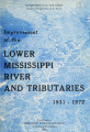 Improvement of the lower Mississippi River and tributaries, 1931-1972