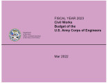 Civil Works budget of the U.S. Army Corps of Engineers, fiscal year...