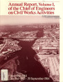 [1984 Chief's annual report]; Annual report, volume I, of the Chief of Engineers on Civil Works...