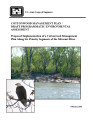 Cottonwood management plan/draft programmatic environmental assessment: Proposed implementation of...