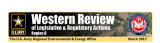 Western review of legislative & regulatory actions: Region 8