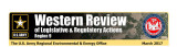 Western review of legislative & regulatory actions: Region 9