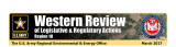 Western review of legislative & regulatory actions: Region 10