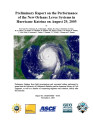 Preliminary report on the performance of the New Orleans levee systems in Hurricane Katrina on...