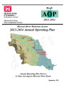 Missouri River Mainstem System: 2013-2014 annual operating plan; Final AOP 2013-2014