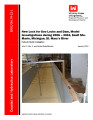 New lock for Soo Locks and Dam, model investigations during 2006 - 2010, Sault Ste. Marie, Michigan, St. Mary's River