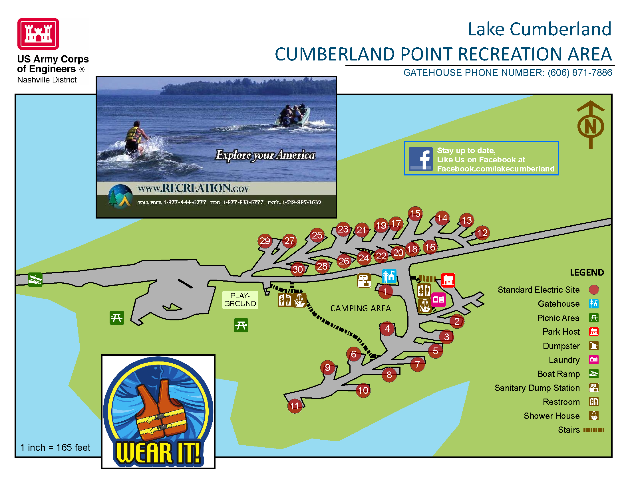 Lake Cumberland: Cumberland Point recreation area